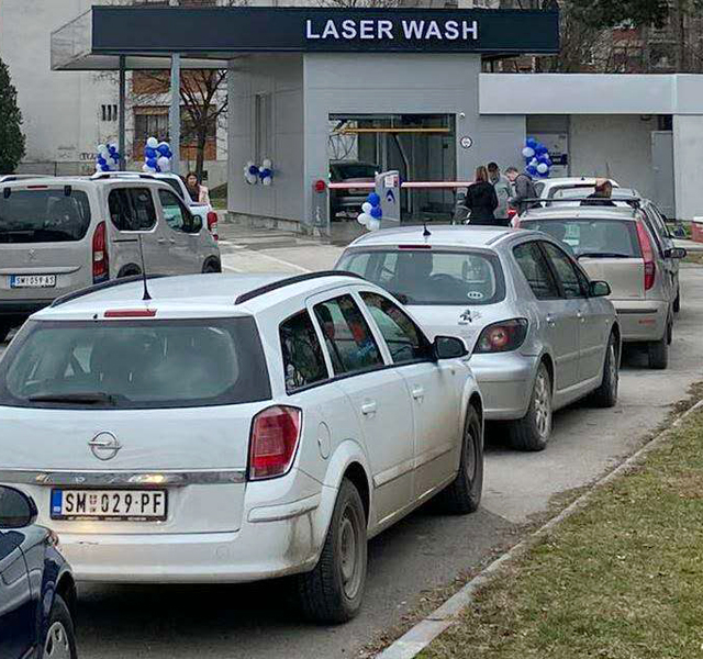 опрема за прање аутомобила