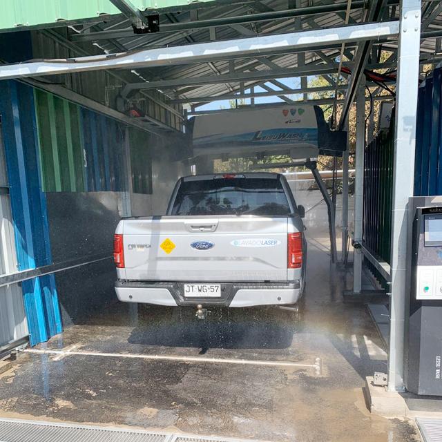 lavado automático de autos
