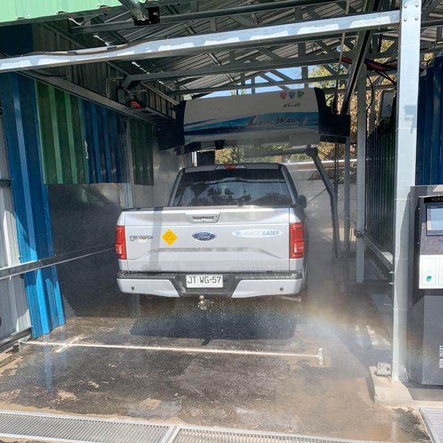 máquina de lavado de autos