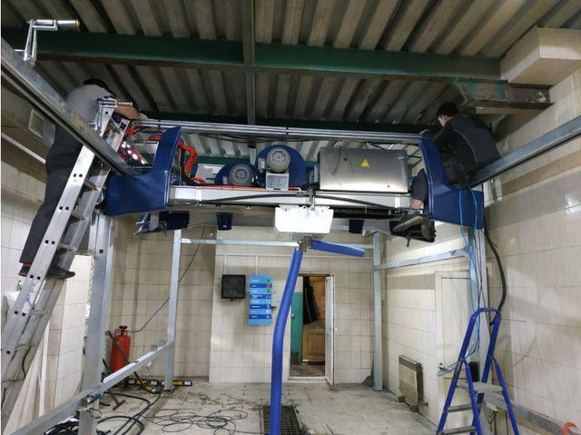 Leisuwash 360 mounting work