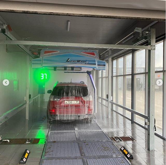Robot car wash in Tyumen 5