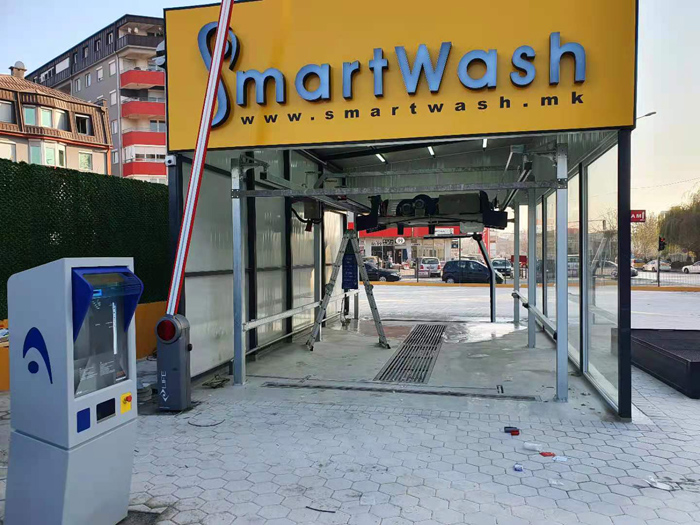 Leisuwash 360 working with payment system from Italy