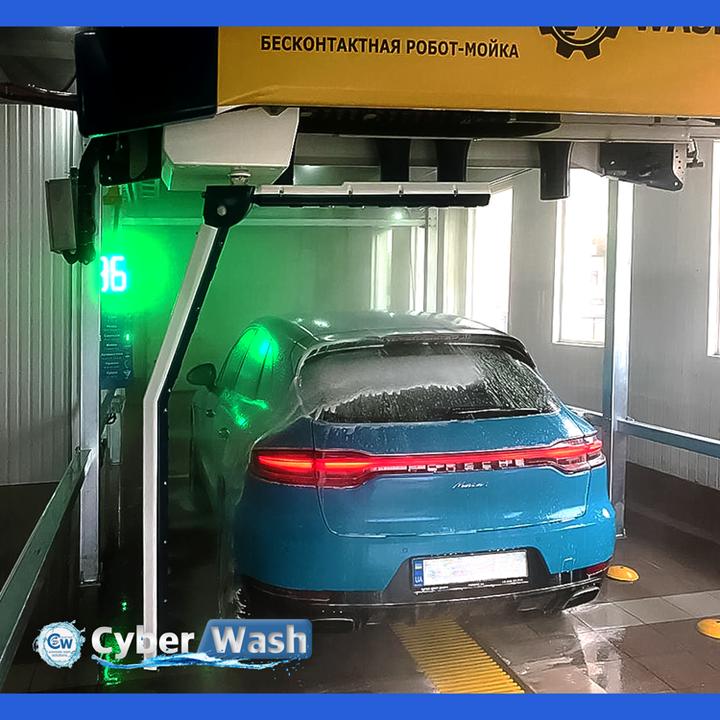 Cyber wash 360 clean Porsche