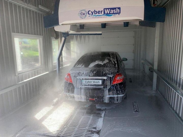 Cyberwash 360 high pressure rinse