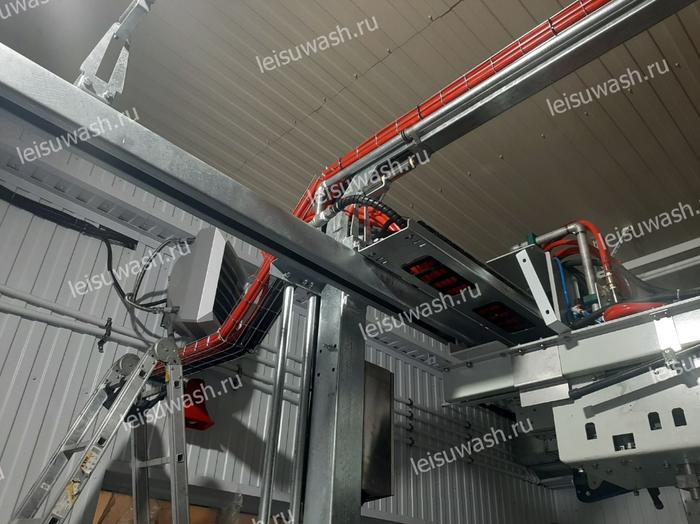 Installation details for Leisuwash 360