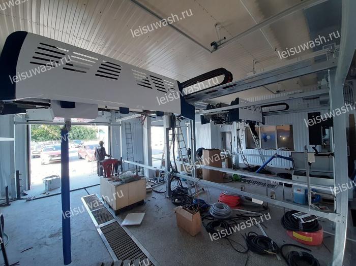 Leisuwash 360 installation