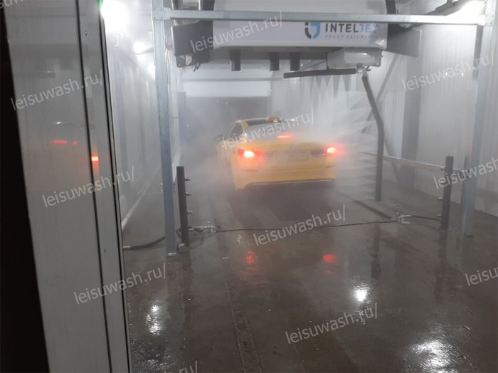 car wash project in BP connect